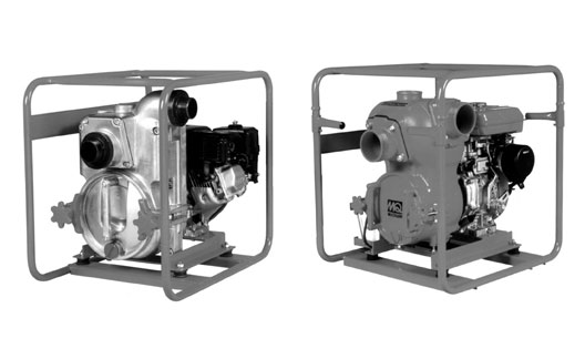 Engine-driven Trash Pumps