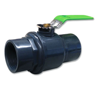 PVC and Stainless Steel Ball Valve